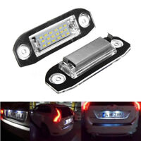 for Volvo C70 S40 S60 V50 V60 V70 LED Licence Number Plate Light White CE, E4