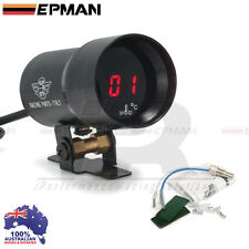 Water Temp Gauge EPMAN 37mm Compact Micro Digital Smoked Lens Universal