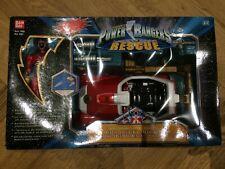 Power Rangers Lightspeed Rescue Red Rescue Speeder Eclair Rouge Complete