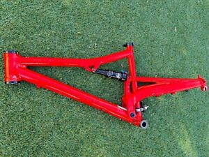 MADE IN USA Cannondale Rush Full Suspension MTB Frame w/ Fox Float DPS Shock