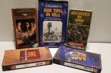 Pearl Harbor,World War 1 /2,Mutiny on Bounty,Jungle Battle Burma, VHS FIVE 5