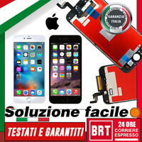 DISPLAY LCD+TOUCH SCREEN+FRAME ORIGINALE PER APPLE IPHONE 6S /PLUS SCHERMO VETRO