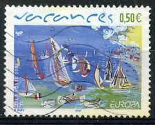 STAMP / TIMBRE FRANCE OBLITERE N° 3668 VACANCES VOILIERS RAOUL DUFY