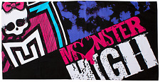 Monster High Beasties bain serviette de plage Personnage Enfants Vacances Sports Natation