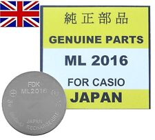 Casio Rechargeable Watch Battery ML2016 - ML 2016. Shipped from UK