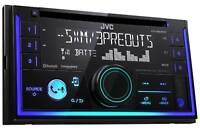 JVC KW-R930BTS 2-Din In-Dash Car Stereo CD Player w/Bluetooth/USB/iPhone/Sirius