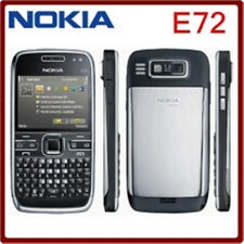 Nokia E Series E72 -Black (Unlocked) 5MP Camera Wifi Bluetooth FM GPS Smartphone