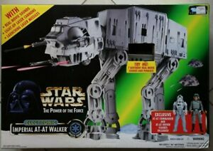Star Wars Power of the Force Imperial At At Walker brand spanking NEW