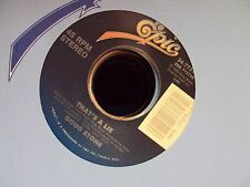 "DOUG STONE Addicted To A Dollar/That's A Lie 7"" 45 early-90's country"