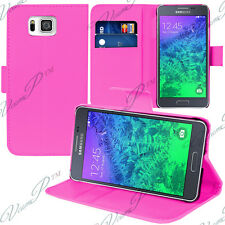 Etui Coque Housse Portefeuille Video ROSE Samsung Galaxy Alpha/ Alfa SM-G850FQ