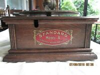 COLUMBIA STANDARD A PHONOGRAPH-AS IS