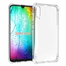 Caso A50 Samsung Galaxy híbrido prueba de golpes TPU Claro cuerpo completo cubie