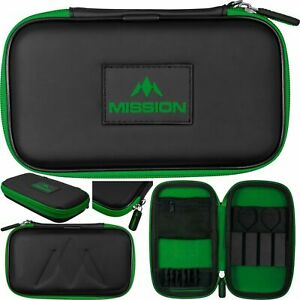 Mission Freedom XL Darts Case Holds Fully Assembled Darts Green