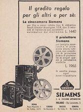 Z3869 Cinecamera e proiettore SIEMENS - Pubblicità d'epoca - 1935 advertising