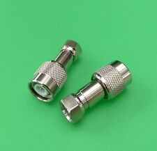 (10 PCS) TNC Male to F Male Connector - USA Seller