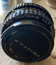 Lente 50mm F1.7 PENTAX-A Usada Buen Estado