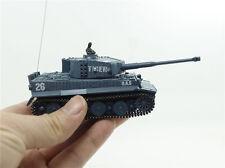 mini micro R/C Tank Remote Control Toy 1:72 WW2 German Tiger usb charging Toys