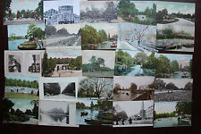 25 FINSBURY PARK CARDS MIXED COLLECTION STREET SCENES BUILDINGS CHURCHES &C