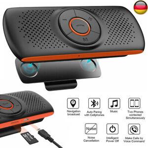 Kfz Bluetooth Freisprecheinrichtung Speaker Freisprechanlage Auto Bluetooth 5.0