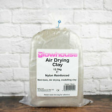 The Glowhouse Air Drying Clay 12.5kg Stone Nylon Reinforced Modelling Clay