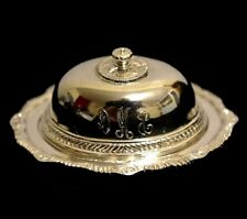 Miniature Sterling Silver Meat Platter Dollhouse 1:12 Peter Acquisto Artist