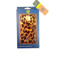 New Authentic Tory Burch Case for Samsung Galaxy S4 - Tortoise Hard Shell Cover