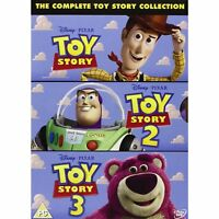 Toy Story 1-3 (DVD 3 DISC BOX SET, 2010) *NEW/SEALED* FREE P&P