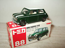 Tomy Tomica No 88, Mini Cooper Type Diecast Model in 1:50 Scale.