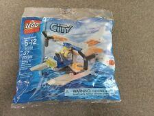 NEW Lego City Coast Guard Sea Plane #30225 Sealed 5-12yrs 37 pcs