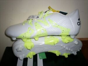 Adidas Women's X15.3 FG/AG W New In Box  White/Yellow B23684 Cleats