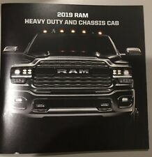 2019 DODGE RAM HEAVY DUTY CHASSIS CAB 52-page Original Sales Brochure