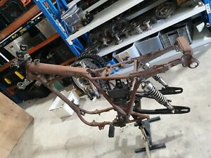 Sr500 frame and parts