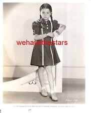 Vintage Virginia Weidler FASHION '36 CHILD STAR Publicity Portrait