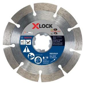 Bosch DBX4541S 4-1/2 Inch X-Lock Segmented Rim Diamond Blade