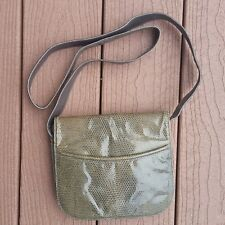 Vintage Maxima for Ted Lapidus Green Crossbody Bag