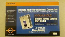 NEW & Unlocked Vonage - Linksys PAP2  VOIP  Adapter SIP Gateway 2 Phone Ports