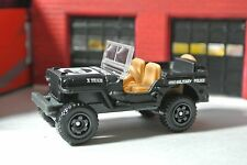 Matchbox Jeep Willys MP Military Police - Black - Loose - 1:64