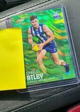 2020 Select Prestige AFL Green Parallel North Melbourne Shaun Atley 36/60 MINT