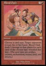 MTG 4x BLOOD OATH - Mercadian Masques *Rare Damage*