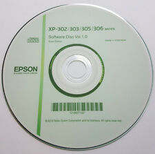 CLONE - Epson Printer CD Driver Software Disc for XP-302 303 305 306 series