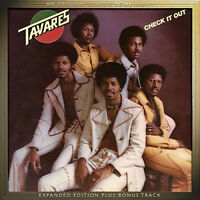 Tavares : Check It Out CD Expanded  Album (2015) ***NEW*** Fast and FREE P & P