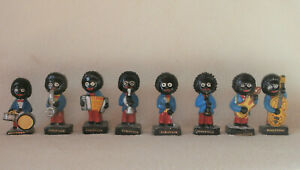 Set of 8 Vintage Robertsons Jam Collectables Band Figures