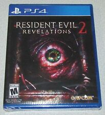 Resident Evil Revelations 2 for Playstation 4 Brand New! Factory Sealed!