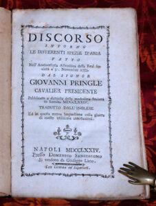 Discorso intorno le differenti spezie d' aria fatto.30 nov. 1773 pubblicato....