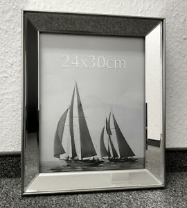 Bilderrahmen 37x30cm Spiegelrahmen Rahmen Colmore Spiegel Glas Fotorahmen Neu