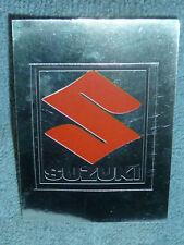 Sammelsticker Nr. 211 Bild Sticker Auto 2000 Suzuki Emblem Glitzer Panini 1985