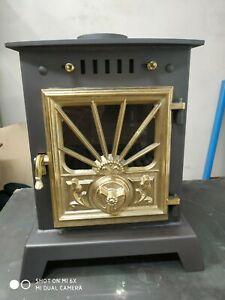 Vintage Wood burning Classic Stove, 4kW for Green House ,Narrowboat ,Shed