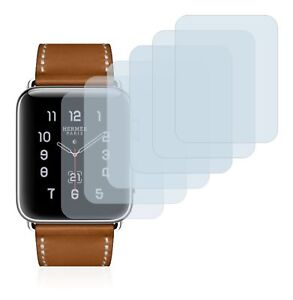 Apple Watch Hermès Series 3 (38mm) 6 x Transparent ULTRA Clear Screen Protector