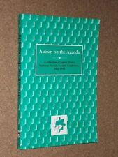 Paul Shattock/Gillian Linfoot Autism On The Agenda Softback Book. 1996.