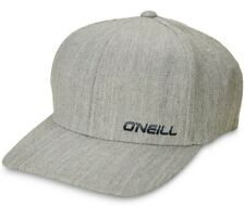 New O'Neill Men's Lowdown Flexfit Heather Grey Lodown Oneill Cap Hat